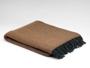 McNutt Woodland Herringbone Blanket