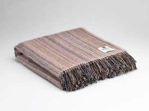 McNutt Cloud Pink Tweed Blanket