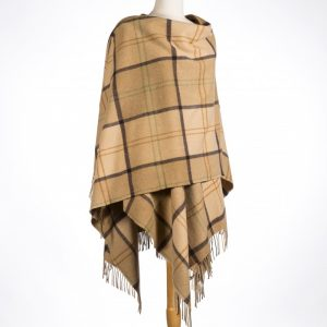 John Hanly Brown Lambswool Liz Cape