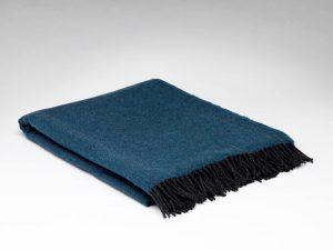 McNutt Larkspur Herringbone Supersoft Blanket