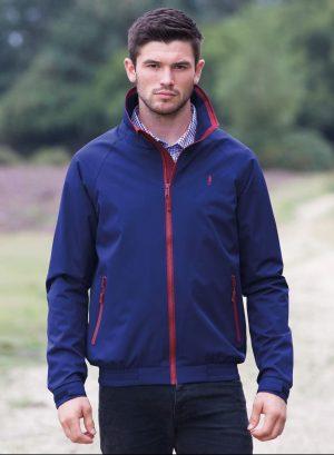 Jack Murphy Mens Dominic Navy Jacket