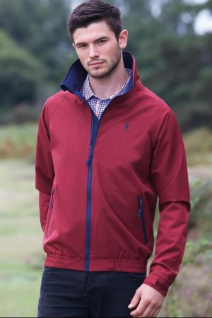 Jack Murphy Mens Dominic Red Jacket
