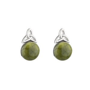 Solvar Connemara Marble Stud Earrings