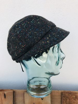 John Hanly Ladies Brown Tweed Hat