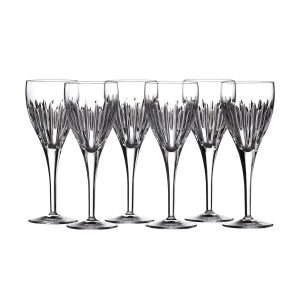 Waterford Crystal Set of 6 Mara Wine Glasses