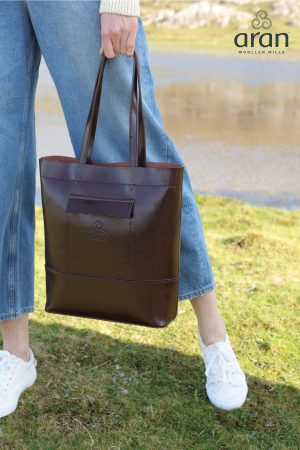 Aran Woollen Mills Leather Bag