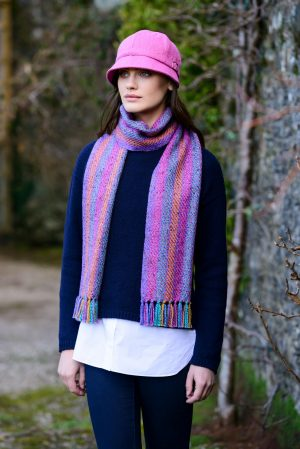 Mucros Multi Color Aran Scarf