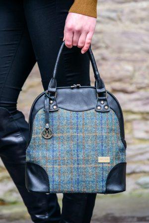 Mucros Green Tweed Abbie Bag