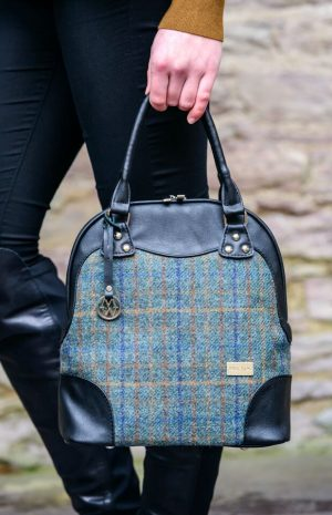 Mucros Green Tweed Abbie Bag