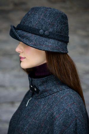 Mucros Charcoal Clodagh Hat