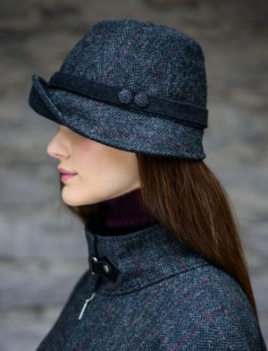 Mucros Charcoal Clodagh Hat