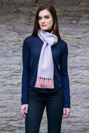 Mucros Peach Dingle Scarf