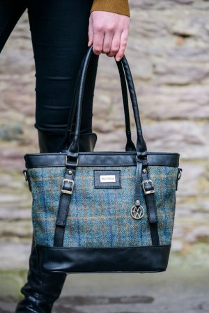 Mucros Teal Kelly bag