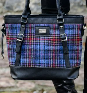 Mucros Check Kelly bag