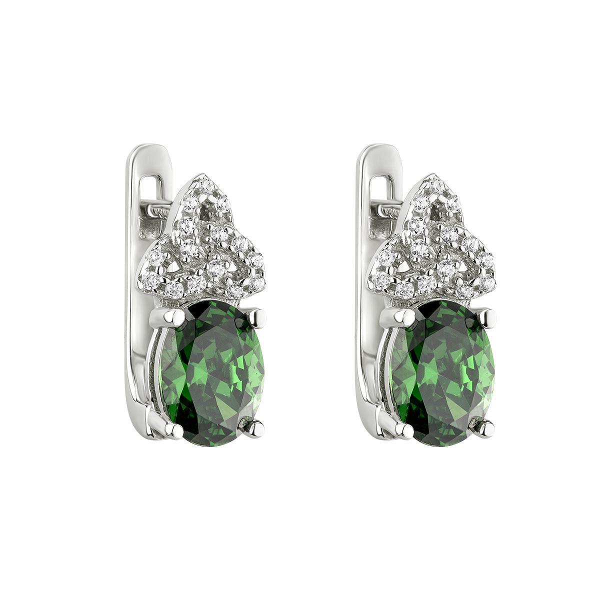 0eddce6af Solvar Green Celtic Knot Earrings - Skellig Gift Store