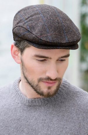 Mucros Dark Brown Trinity Cap