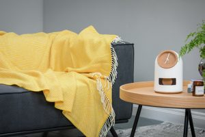 Foxford Yellow Herringbone Blanket 3569/f6