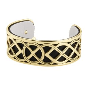 Solvar Celtic Irish Gold Bangle