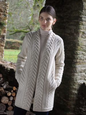 Aran Super Soft Merino Coat