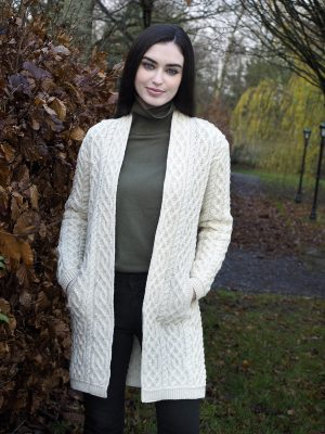 Celtic Braid Edge Aran Coat