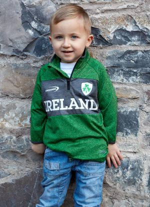 Kids Ireland Half Zip Sweatshirt