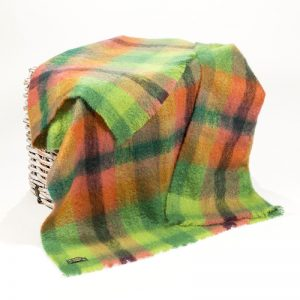 John Hanly Large Multi Color Blanket