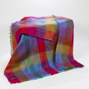 John Hanly Large Multi Color Throw