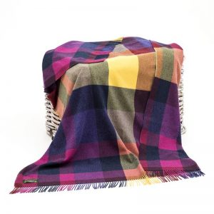 John Hanly Lambswool Blanket 680