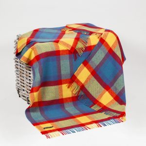 John Hanly Multi Colour Throw
