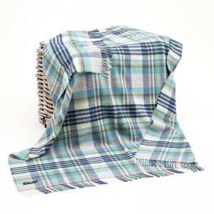 John Hanly Merino Cashmere Blanket 1465