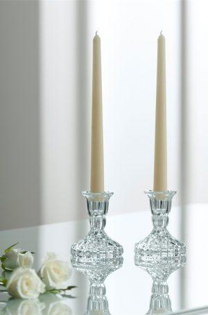 Galway Crystal Ashford Candlestick Set G57405