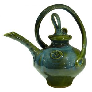 Colm De Ris Large Green Tea Pot