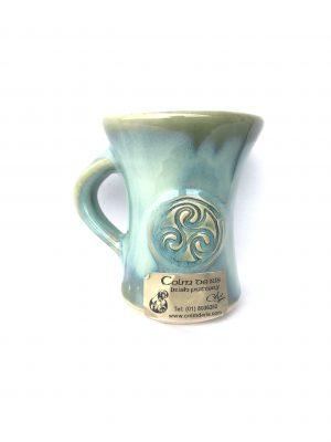 Colm De Ris Green Straight Mug Cup