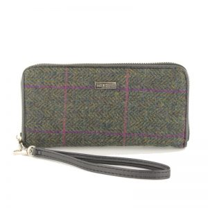 Mucros Weavers Green Purple Purse