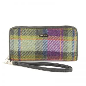 Mucros Weavers Check Purse