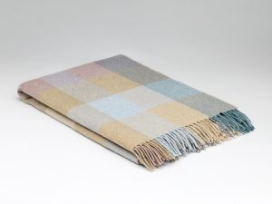 McNuttCoastal Check Blanket