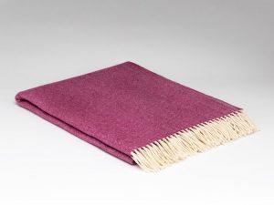 McNuttBeetroot Herringbone Blanket