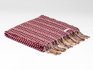 McNutt Crimson Basketweave Scarf