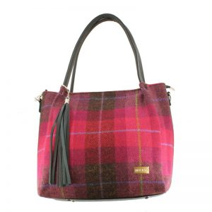 Mucros Pink Check Erin bag