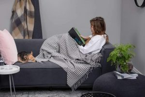 Foxford Oxford Houndstooth Throw