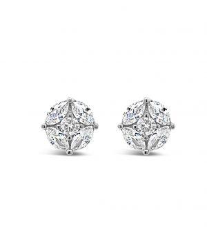Absolute Sterling Silver Earrings se103sl