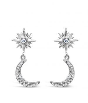 Absolute Sterling Silver Earrings se105sl