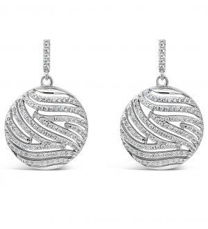 Absolute Sterling Silver Earrings se117sl