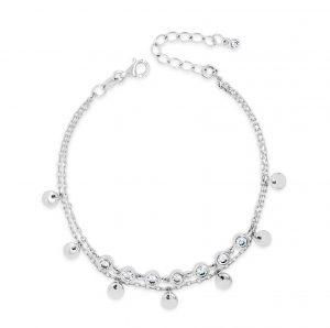 Absolute Sterling Silver Bracelet sb106sl