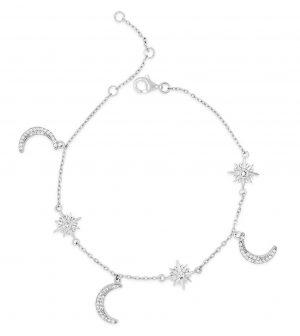 Absolute Sterling Silver Bracelet sb117sl