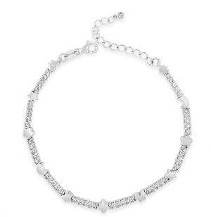 Absolute Sterling Silver Bracelet sb101sl