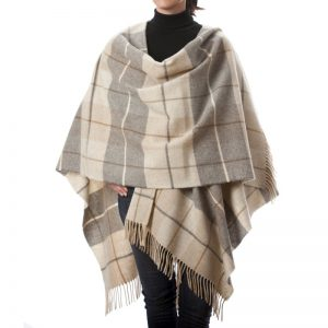 John Hanly Herringbone Liz Cape 629