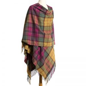John Hanly Lambswool Liz Cape 654