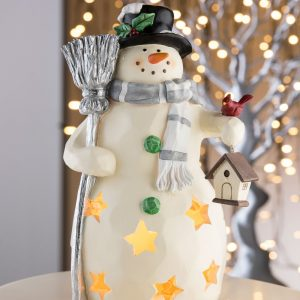 Aynsley Large Mr Snowman Led