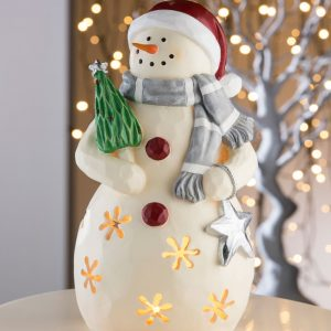 Aynsley Large Mrs Snowman Led